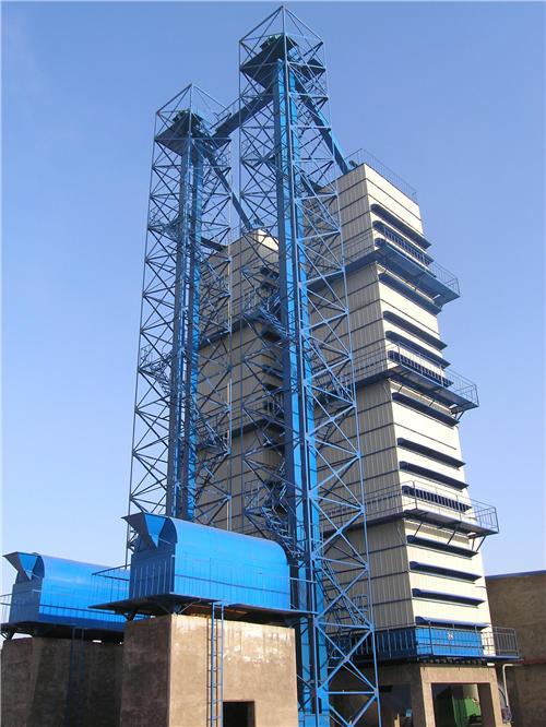 两台600吨HGT烘干机
